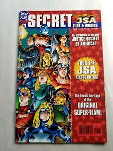 JSA Secret Files & Origins 1 1999 1st Appearance of New Hawkgirl