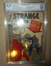 Marvel Comics Cbcs 6.5 STRANGE TALES 111 DR STRANGE Baron mordor cgc