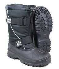 Heavy Snow Cold Weather Boots - Winter Thinsulate Lined Insulated Shoe Black New
