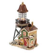 Department 56 New England Sandy Shoal Lighthouse Village