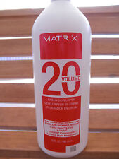Matrix 20 volume cream developer 32 oz  for Socolor Logics Light Reactions