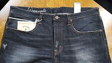 NWT (+)PEOPLE LUXURY MADE IN ITALY SELVEDGE DISTRESSED DENIM 36