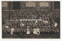 WW1 Military Group Photo 8th Hussars Vintage RP Postcard  209c