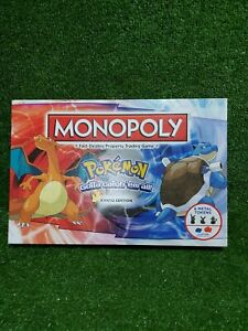 Pokemon Monopoly Kanto Edition Gotta Catch Them All - Complete Family Board Game
