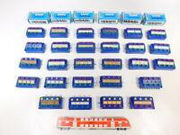 CD858-2# 27x Märklin H0 etc Stellpult/Schaltpult: 70725+7210+7211, defekt+6x OVP