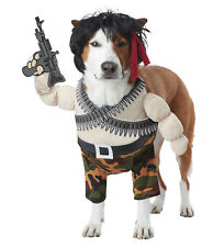 Rambo Action Hero Dog Pet Funny Costume