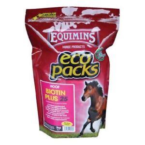Equimins Biotin Plus 25 Hoof Supplement- 1kg, 2kg, 3kg tub or 2kg Eco Pack