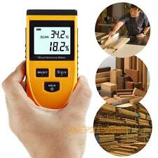 Digital Wood Moisture Meter Portable Digital Timber Moisture Meter Damp Detector
