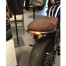 Motorcycle LED Scrambler Brake Tail Light Turn Signals For Bobber Cafe Racer ATV
