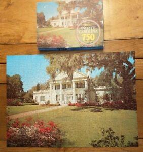 Vintage North Carolina Orton Plantation House 750 Piece Jigsaw Puzzle Complete