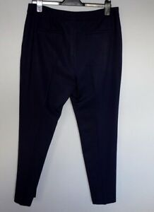 HOBBS, Navy, classic tapered trousers, size 14