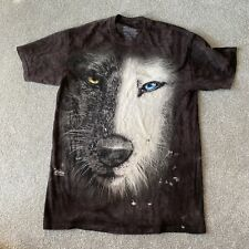 Wolf All Over Print T Shirt Used