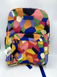 NWT Vera Bradley Pop Art Lighten Up Grande Laptop Backpack