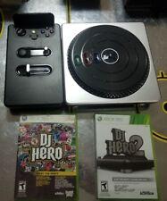DJ Hero Renegade Edition Bundle + BONUS Turntable & DJ Hero 2!!! (Xbox 360)