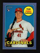 2018 Topps Heritage High Purple Refractor Thc612 Tyler O'Neill Rc Cardinals
