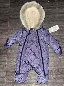 0-1 Tiny Baby Snow Suit
