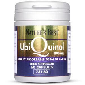 Nature's Best Ubiquinol 100mg |60 Capsules Of Advanced Body Ready CO Q10|Pure, N