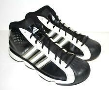 Men's ADIDAS Pro Model G21123 Shoes 2010 Black w/ Multi-Color Stripes 10.5