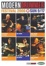Modern Drummer Festival 2006 Sunday Instructional Drum DVD NEW 000320651