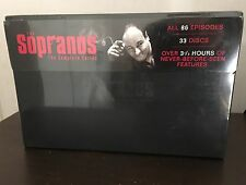 Sealed! The Sopranos The Complete Series (DVD, 2008, 33-Disc Set) Collectors Set