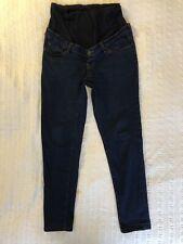 Maternity Demin Jeans, 12 Regular, Blooming Marvellous, Blue Navy, Over Bump