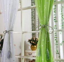 New Star Tulle Curtains Modern Transparent Curtains for Living Room Home Textile