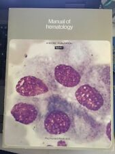 Manual of Hematology Upjohn 1976, 20 Page Color Illustrations