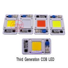 1pcs 50W Hydroponice DOB AC LED COB Chip F Grow Plant Light Full Spectrum AC220V