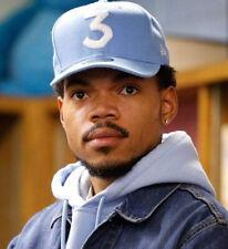Chance The Rapper 3 New Era Cap Snapback Hat (Blue) 100% Authentic