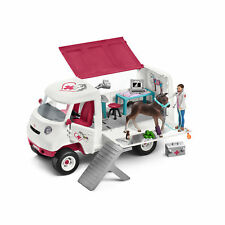 Schleich mobile Tierärztin mit hannoveraner Fohlen 42370