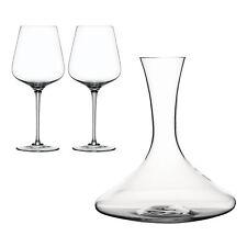 Spiegelau Toscana Set 3tlg. Dekantierkaraffe + 2 Bordeauxgläser Kristallglas