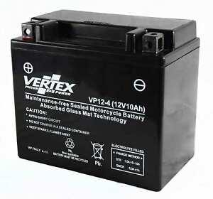Vertex Battery For Suzuki VZ 800 Marauder 2002