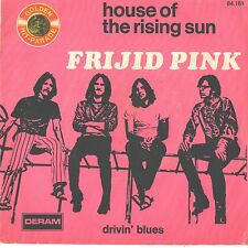 FRIJID PINK--FRENCH PICTURE SLEEV + 45--(HOUSE OF THE RISING SON)--PS--PIC--SLV
