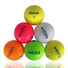 120 Volvik Distance Color Mix Mint Used Golf Balls AAAAA