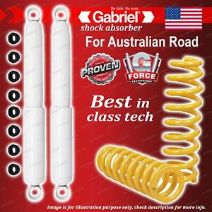 Rear Gabriel Ultra LT Shocks + King Springs for Land Rover Defender 90 110 130