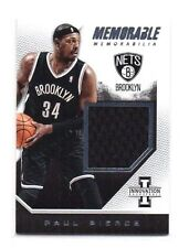 Paul pierce 2015-16 panini innovation, MEMORABLE memrobilia,/299!!!