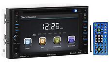 """Planet Audio P9640B 6.2"""" Double DIN In-Dash Car Monitor DVD Player+Bluetooth/USB"""