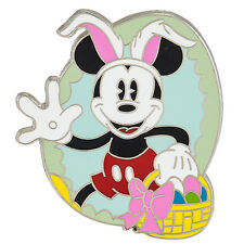 Authentic Disney Parks Exclusive Trading Pins Easter Bunny Mickey in Egg Pin