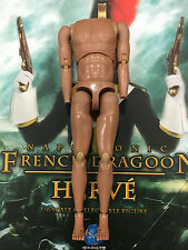 "DID Dragon in Dreams Herve French Dragoon 12"" Nude Body loose 1/6th scale"