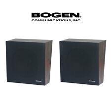 "2 Pack Lot Bogen Wall Baffle Wooden Speaker Assembly 8"" Volume Control Wbs8T725V"