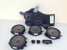 AUDI A3 OEM FRONT AND REAR DOOR AUDIO SOUND SUBWOOFER SPEAKERS BLAUPUNKT
