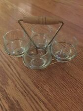 Libbey Tempo Cocktail Tumblers With Caddy