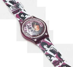 Disney Campo Rock Fashion Moda Diamante Ragazzi Cinturino Orologio 24538