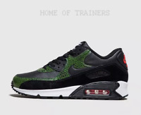 Nike Air Max 90 QS Python Black Green White Men's Trainers All Sizes