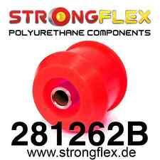 2 PU Buchsen für Zugstrebe VA Nissan 200SX-S13,S14,R32,33,34 StrongFlex 80ShArot