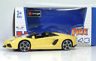 "Bburago 30010 Lamborghini Aventador LP700-4 Roadster ""Gialla"" METAL Scala 1:45"