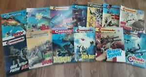 commando comics collection - 13 war stories - 1972/1973 (600/700 series)