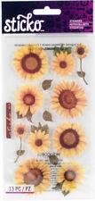 EK Sticko Stickers Vellum Sunflowers SPVM76