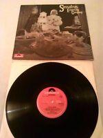 SASSAFRAS - EXPECTING COMPANY LP EX!!! UK 1ST PRESS POLYDOR TEXTURED SLEEVE