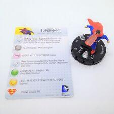 Heroclix World's Finest set Superman #033 Rare figure w/card!